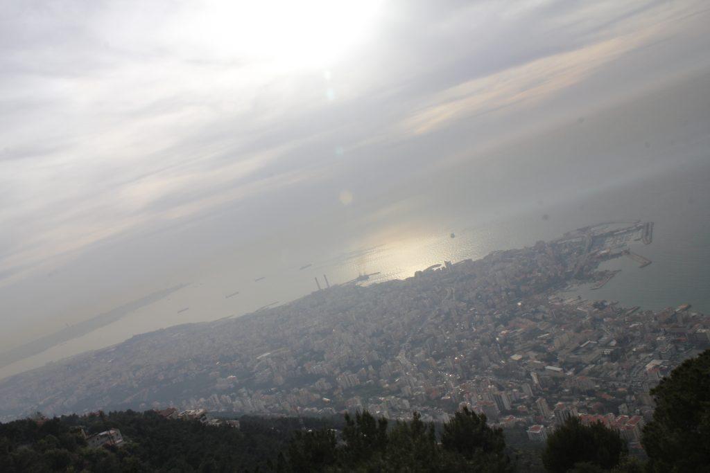 Harissa tepesinden Beyrut...