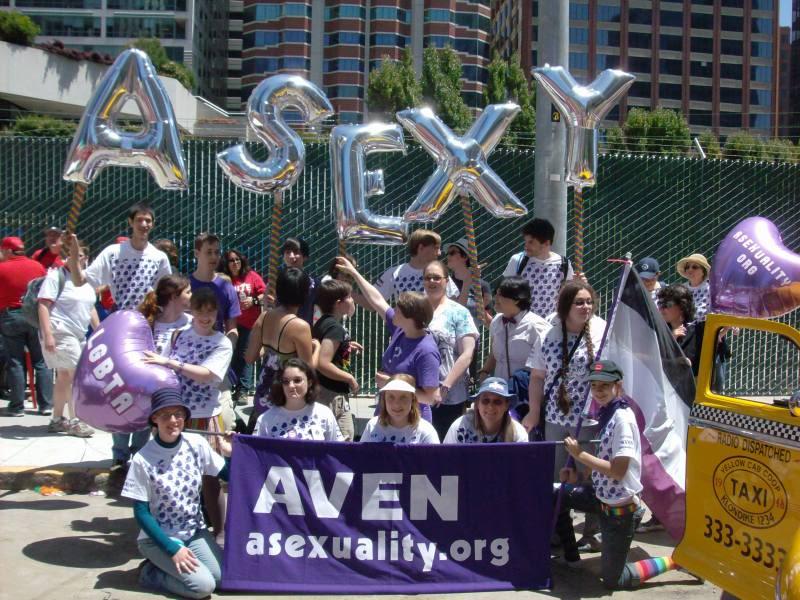 Aseksüellerin birbirlerine sahip çıktıkları ve eylem yaptıkları aktivist bir grupları da bulunuyor. Pasif direniş mi deniyordu buna?