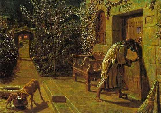 """18inci yy. İngilteresi ressamlarından William Holman Hunt'ın tablosu. """"Bahçedeki bu kapı, insanın kalbini temsil ediyor. Ancak içeriden açılabildiği için de, kalbin dışarıdan tokmağa ihtiyacı yoktur."""""""